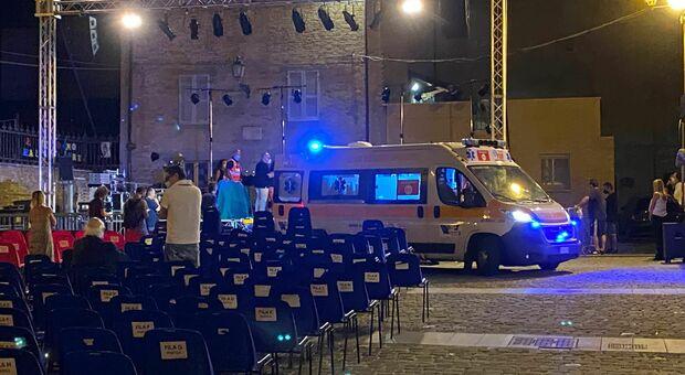 I soccorsi a Gaetano Curreri a San Benedetto