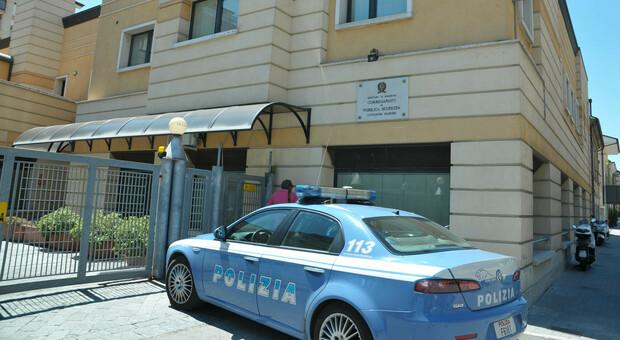 La sede del commissariato di Civtanova