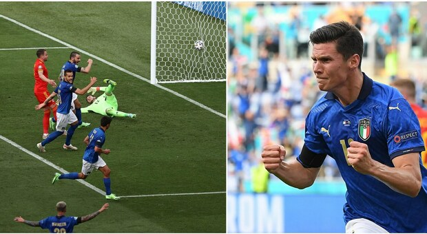 Italia-Galles 1-0 live