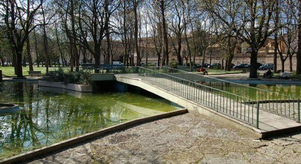 I giardini Regina Margherita a Fabriano
