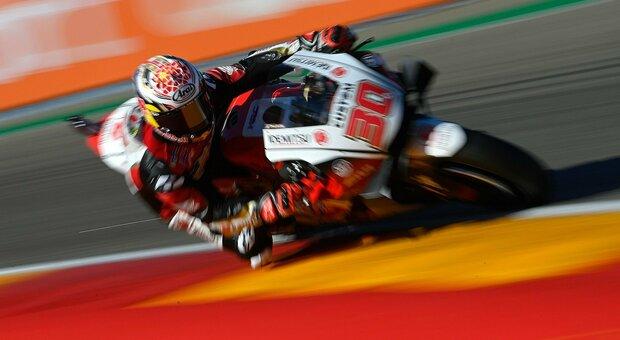 Moto Gp, ad Aragon prima pole in carriera per Nakagami davanti a Morbidelli e Rins