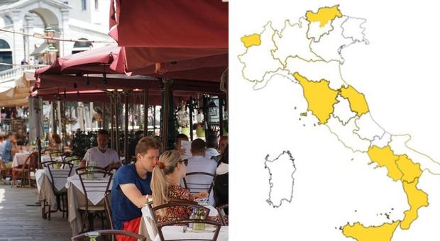 Zona bianca Lombardia, Lazio, Emilia, Piemonte, Puglia e Trento da lunedì. Ecco cosa cambia