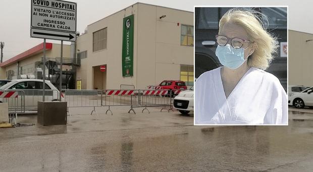 Civitanova, Covid Hospital in chiusura, la direttrice Area Vasta: «Posti riservati agli infetti nei Pronto soccorso»