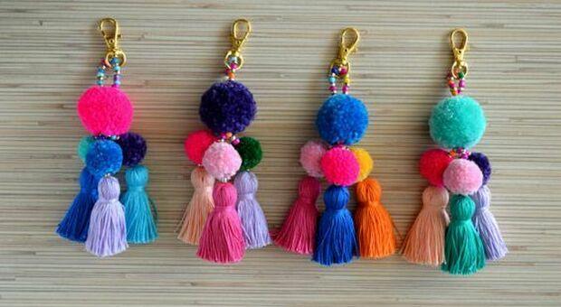 Con i fili di lana è possibile realizzare splendidi oggetti per la casa