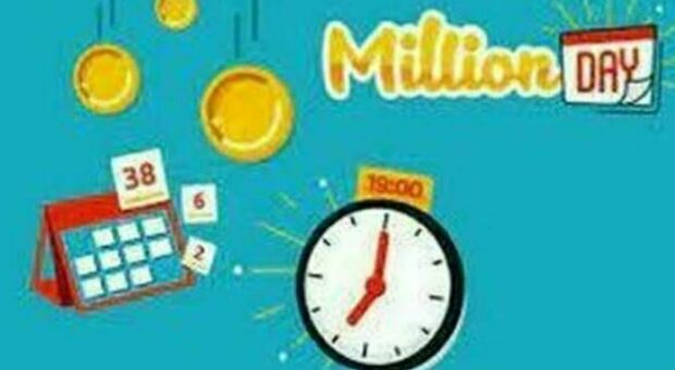 Million Day, l'estrazione dei cinque numeri vincenti di oggi sabato 18 settembre 2021