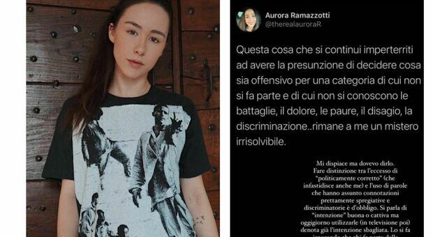 Aurora Ramazzotti contro Pio e Amedeo: «L'uso di parole come neg*o e froc**o in Tv è sbagliato, fanno male»