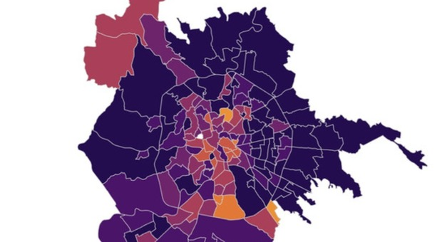 Roma, contagi in aumento: mappa quartieri, da Monteverde all'Appia dove corre il virus