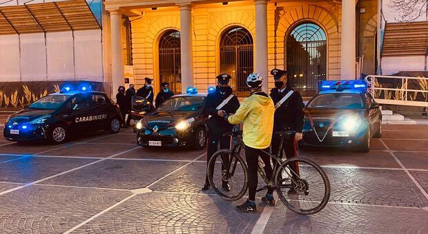 I controlli dei carabinieri romagnoli