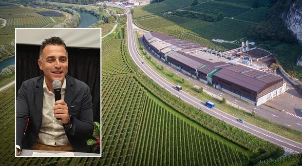 Il sindaco di Force Augusto Curti e un impianto gemello a quello che si vuole realizzare in Valdaso