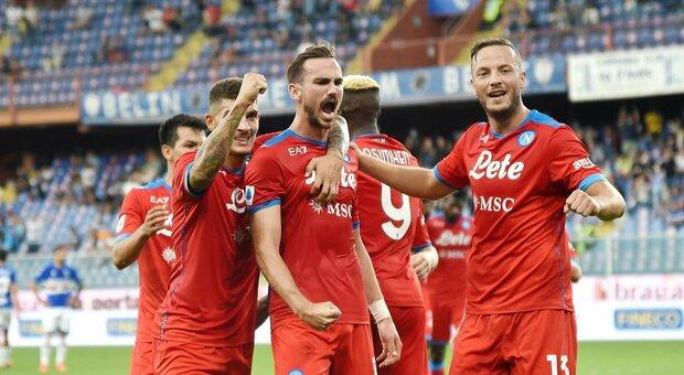 Sampdoria-Napoli 0-4