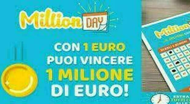 Million Day, l'estrazione dei cinque numeri vincenti del 20 giugno 2021