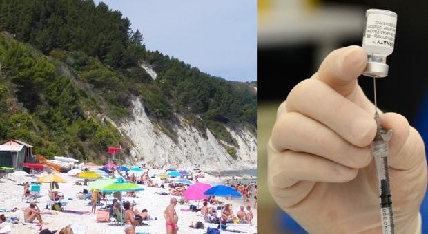 Vaccinazioni in vacanza, le Marche pronte: a breve le aperture delle prenotazioni ai turisti. Il nodo AstraZeneca