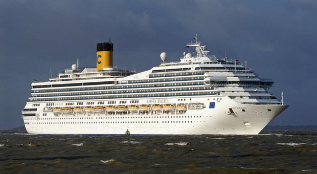 Sbarcherà ad Ancona la nave da crociera bloccata nei Caraibi dall'epidemia di Coronavirus