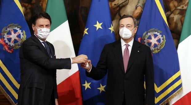 Il Governo Draghi è entrato in carica: «Mettiamo in sicurezza il Paese». Conte lascia Palazzo Chigi, finito il primo Consiglio dei Ministri
