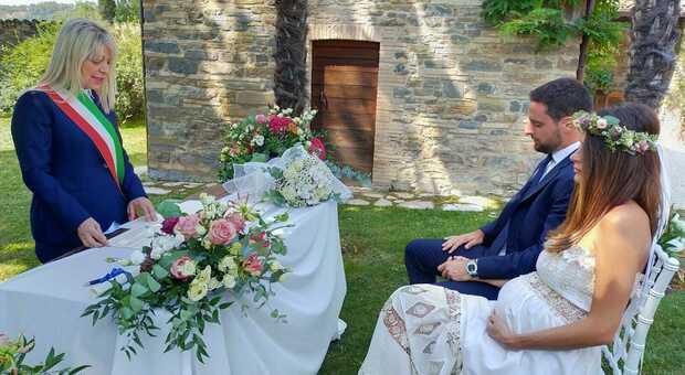 Jack Bonaventura sposo, il sì del calciatore con Federica a San Severino