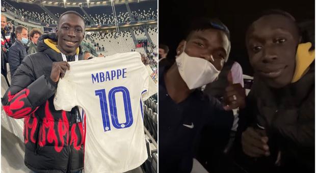 Francia, tutti pazzi per Khaby Lame: maglia da Mbappé, Pogba lo riconosce e lo imita