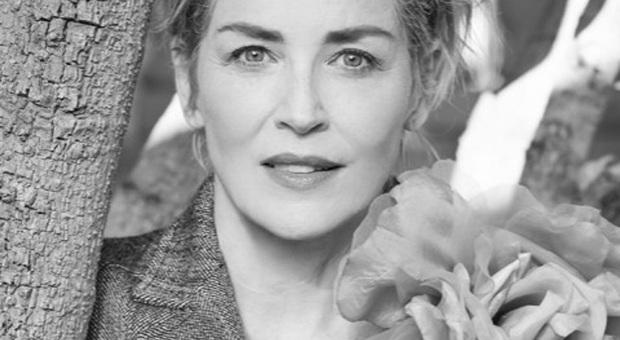 L'attrice e produttrice americana Sharon Stone