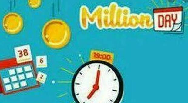 Million Day, estrazione dei numeri vincenti di oggi 21 maggio 2021