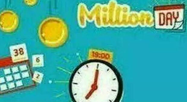 Million Day, l'estrazione dei numeri vincenti di oggi 10 giugno 2021