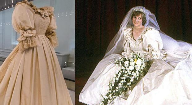 Lady Diana, l'iconico abito da sposa per la prima volta in mostra a Kensington Palace