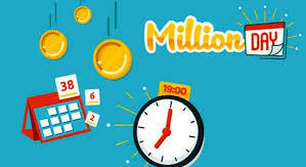 Million Day, diretta dell'estrazione dei 5 numeri vincenti di oggi 2 maggio 2021. Come si gioca e quanto si vince