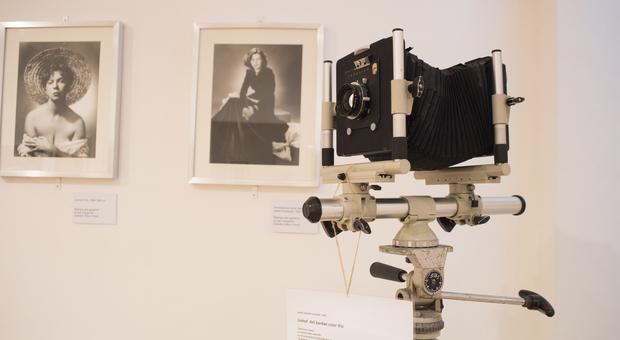 Un angolo del museo dedicato al grande fotografo Arturo Ghergo