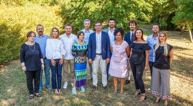 La squadra del sindaco uscente e ricandidato Filippo Gasperi