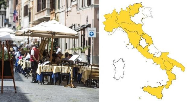 Zona bianca, quando tocca a Lazio e Lombardia? Coprifuoco alle 24 da domani, le regole