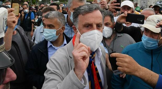 L immobiliarista romano Roberto Renzi nei giorni scorsi a San Benedetto