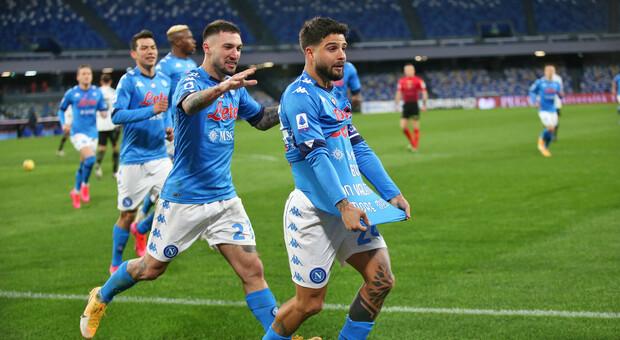 Napoli-Juve 1-0, la vendetta di Insigne. Bianconeri fermati da un grande Meret