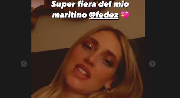 Fedez, Chiara Ferragni: «Fiera di mio marito, coraggioso ad andare contro tutto e tutti»