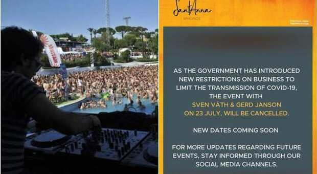 Variante Delta, boom di contagi in Grecia: saltano le feste in spiaggia e i concerti