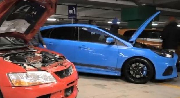 Corse clandestine nei sotterranei Ikea: la Polizia piomba sui bolidi modificati