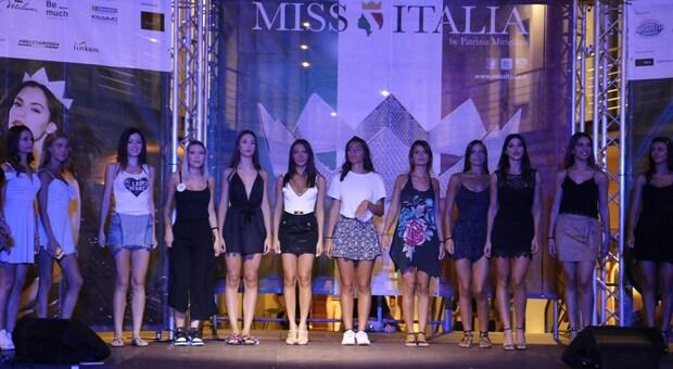 Una sfilata di Miss Italia in un'immagine di repertorio