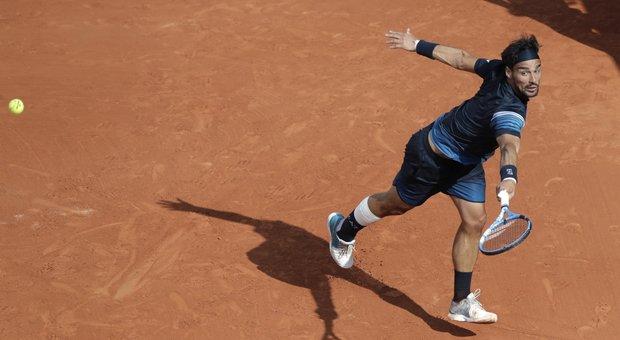 Roland Garros, Fognini ko con Zverev. Djokovic ai quarti