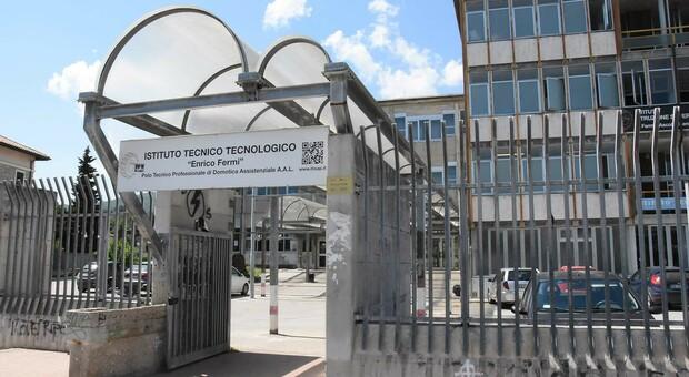 L'istituto tecnico Fermi di Ascoli Piceno dove sono previsti lavori per 3,7 milioni