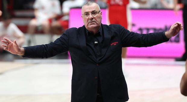 Jasmin Repesa, 59 anni, nuovo allenatore della Vuelle Pesaro