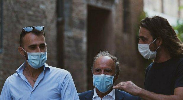 Da sinistra Cingolani, Baldini e Gagliardi