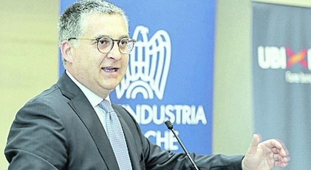 Il presidente di Confindustria Marche Claudio Schiavoni.