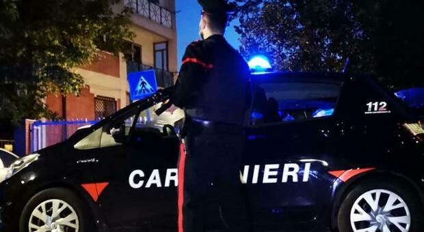 Carabinieri in servizio sul territorio