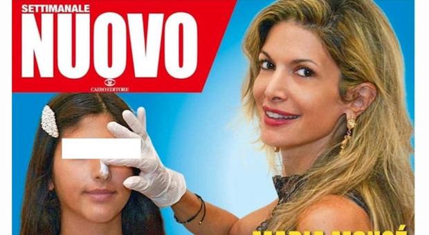 Maria Monsè porta la figlia 14enne dal chirurgo plastico. Polemica furiosa, Selvaggia Lucarelli: «Assistenti sociali subito»
