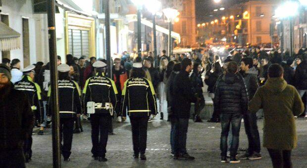 I controlli della polizia locale a San Benedetto