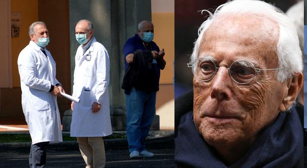 Coronavirus, Giorgio Armani converte gli stabilimenti: produrrà camici monouso