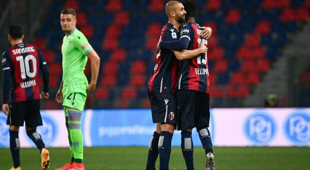 Bologna-Lazio 2-0: Immobile sbaglia e Inzaghi cade. Mihajlovic ringrazia e si prende la vittoria