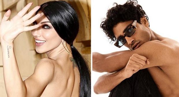 Giovanna Abate e Akash Kuman (Instagram)