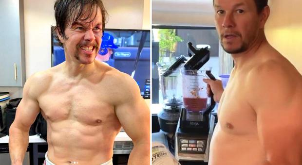 La dieta di Mark Wahlberg da 11mila calorie al giorno: «È stato divertente per circa un ora»
