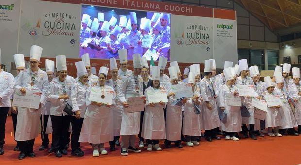 I vincitori dei Campionati di Cucina. Stefano Ciotti del Nostrano di Pesaro super ospite del Contest Ragazzi Speciali