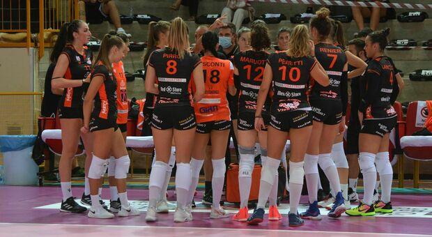 Megabox Vallefoglia e Balducci Macerata pronte ai playoff per la Serie A1