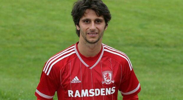 Diego Fabbrini, 30 anni, nuovo giocatore dell'Ascoli