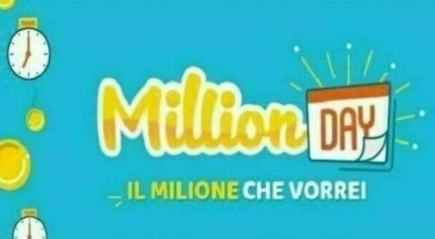 Million Day, ecco i numeri vincenti di oggi martedì 24 agosto 2021